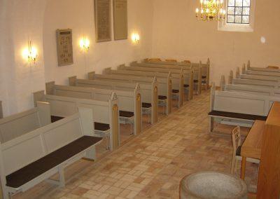 Malerarbejde renovering af kirke og bevaringsværdige bygninger