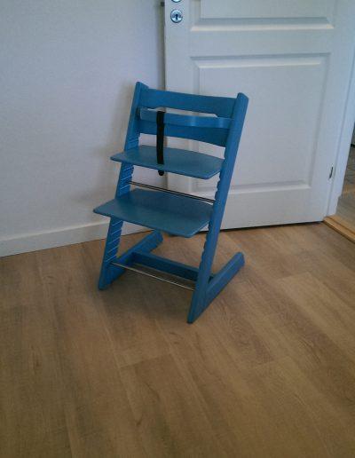 Vejby Sprøtelakering TripTrap stol